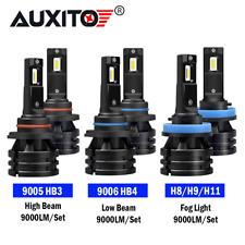 9005+9006 LED Headlight Kit H11/H8 Fog Light Combo Lamp Replace Halogen lamp