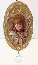 Shabby Victorian Chic Angel Christmas Ornament