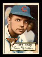 1952 Topps Set Break #172 Eddie Miksis VG-EX *OBGcards*