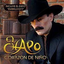 El Chapo De Sinaloa Corazon de Nino Caja De Carton CD Nuevo Sealed