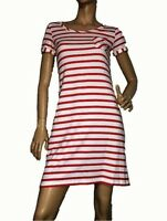 CREW CLOTHING SIZE 8 COTTON BLEND T SHIRT  DRESS