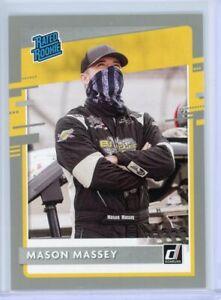 2021 Donruss Racing Rated Rookie Silver #32 Mason Massey