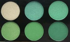LAVAL BEAUTIFUL 6-SHADE EYESHADOW PALETTE GREEN LARGE 9G NEW SEALED