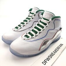 Nike Air Jordan 10 X Retro Wings Chicago Men's 10 White Chrome Black CK4352 103