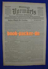 VORWÄRTS (1. September 1920): Unsere Strafe für Breslau