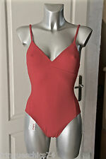 maillot de bain rose glossy ERES complot duni T 36-38 (US 6) NEUF valeur 295€