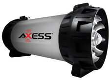 Axess Bluetooth USB/TF card/Aux-in/FM Rechargeable Speaker (Grey)  SPBT1065