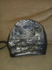 Small Silver Bebe Backpack