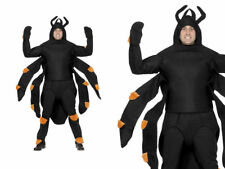 Spider Tarantula Costume Adult Unisex Halloween Insect Bug Novelty Fancy Dress