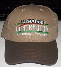 Menards Contractor Advantage Program Tarkett Adjustable Basball Hat CAP NEW