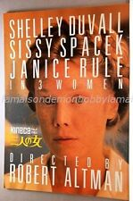 3 WOMEN Sissy Spacek Shelley Duvall Janice Rule Original Japanese Movie Program