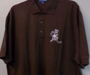 Hershey Bears Skating Bear AHL Vintage Logo Mens Polo Shirt XS-6XL, LT-4XLT New