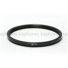 82-77mm Step-Down Metal Lens Adapter Filter Ring / 82mm Lens to 77mm Accessory