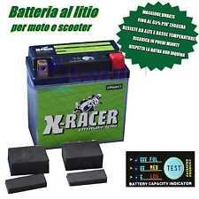 BATTERIA LITIO UNIBAT X RACER LITHIUM 11 XL 1200 N NIGHTSTER ROUES À RAYONS