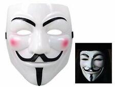 Mascara de V de vendetta disfraces carnaval Halloween careta antifaz pelicula