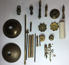 Group Of Vintage Brass & Other Lighting Parts A