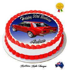 "TORANA SLR5000 CAR ""REAL EDIBLE ICING"" CAKE IMAGE PARTY TOPPER FROSTING SHEET"