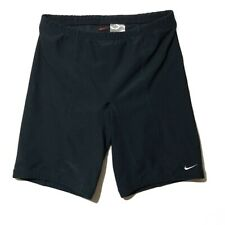 """Nike Mens Cycling Shorts Size XL Compression Navy Blue 9"""" Black 9"""" lot of 2"""