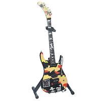 GEORGE LYNCH Dokken Kamikaze Legend Mini Guitar Model Replica Gift Figurine