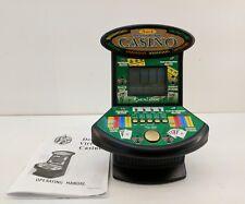 Deluxe 5 in 1 Virtual Casino Mini Arcade video Game Table Top Excalibur