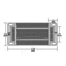 12V 200W MZ45-76A2-200-12 Electric Ceramic Heater for Incubator Brooder Heating