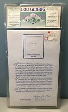 '92 Lou Gehrig Rare Classic Letter Great Estates YANKEES AUTHENTIC SEALED 04870