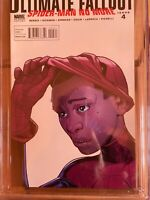 ULTIMATE FALLOUT #4 CGC 9.6 2nd Print 1st Face Mask Reveal Cover MILES MORALES