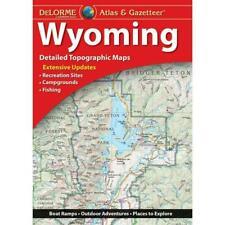 Wyoming Atlas and Gazetteer (2017, Trade Paperback)