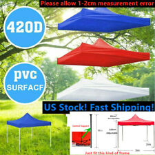 US STOCK 10x10ft Canopy Top Replacement Patio Gazebo Outdoor Sunshade Tent Cover
