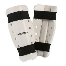 Century Martial Arts Sparring Shin Guards Pads White Size Youth