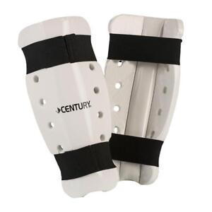 Century Martial Arts Sparring Shin Guards Pads White Size Adult XL