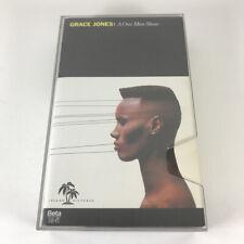Grace Jones - A One Man Show Beta Japan Edition fold out lyrics 1982 Betamax
