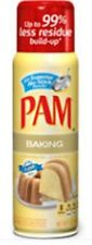 3 Pack Pam Cooking Spray Baking Kitchen Cooking Oil