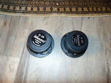 Pair Dynaudio D-28 (2) tweeters (D2806 2A)  -   DEEP CUP  EXTERNAL RING