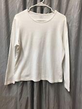 Croft & Barrow Women's Shirt, Long Sleeve, Size XL
