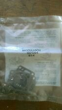 NOS New McCulloch Eager Beaver Chain Saw WALBRO Carb Carburetor Repair Kit