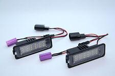 LED SMD luz matrícula vw eos Lupo polo 9n 9n3 6r GT GTI TDI TÜV libre
