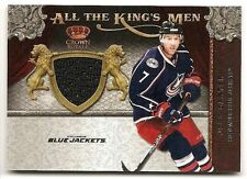 11/12 CROWN ROYALE ALL THE KING'S MEN JERSEY Jeff Carter #38