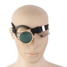 VINTAGE Steampunk Goggles Cyclops Glasses Welding Cyber Cosplay Props Brass