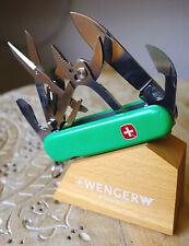 RARE Wenger Tradesman pale green Classic 51 vert   couteau suisse sak knife