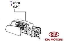 ORIGINALE Kia Rio 2005-2009 PORTE A SPECCHIO COMPLETO-LH MANUALE 876101g900