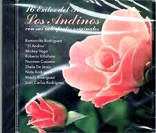 LOS ANDINOS - 16 EXITOS DE TRIO CON SUS INTERPRETES ORIGINALES - CD