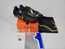 Nike Air Zoom Total 90 Supremacy FG 313969-071 Black/Met Gold-Dark Size 11