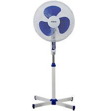 Ventilador de Pie Silencioso de 3 Velocidades Potencia 45W Altura Regulable 3745