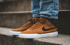NIKE BRUIN SB HYPERFEEL Suede Trainers Gym Fashion - UK 11 (EUR 46) Hazelnut