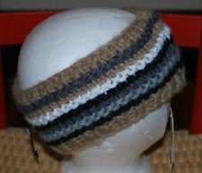 Knit Head Wrap OSFA NWT$18 Winter Hair Accessory Browns Black Gold Gray WARM NEW