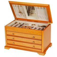 Mele & Co Cathleen Oriental Rose Wooden Jewellery Box  NEW   22473