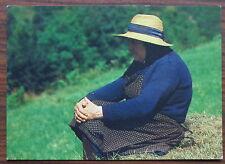 Carte postale Alors raconte,photo Berthoule Herve,paysanne  ,postcard