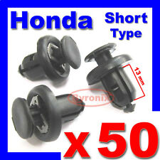 HONDA BUMPER WHEEL ARCH LINER SPLASHGUARD TRIM CLIPS Accord Civic City C-RV Jazz
