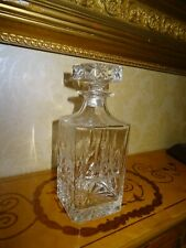 Hand Cut Lead Crystal Glass High Quality Decanter for the Mere Hotel,Cheshire